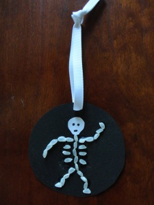rice skeleton craft