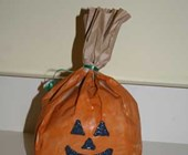 Paper Bag Jack-o-lantern Craft