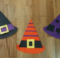 Witches Hats Craft