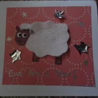 Ewe Are a Star Sheep Greeting Card