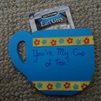 You're My Cup of Tea Tea Cup Greeting Card