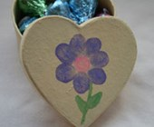 Mother's Day Fingerprint Box of Kisses Craft