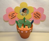 Homemade Mother's Day Flower Pot Craft
