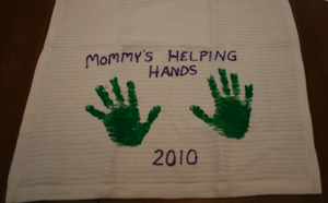 mothers day handprint craft