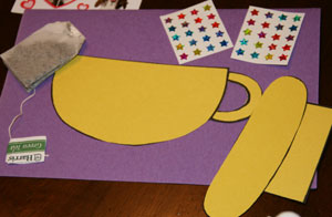 tea cup craft materials