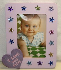 Mother's Day Homemade Frame Craft