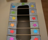 Tissue Box Guitar Craft