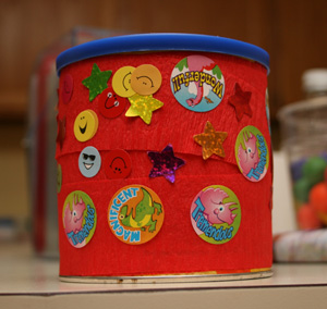 kids drum craft