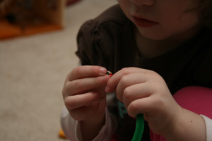 toddler bracelet craft