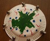 Tambourine Craft for Kids