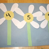 Daisy Pedal Math Craft