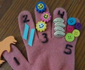 Finger Counting Fun Craft