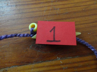 number necklace craft