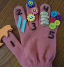 counting glove craft