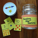 homemade dominoes craft