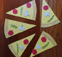 pizza slice craft