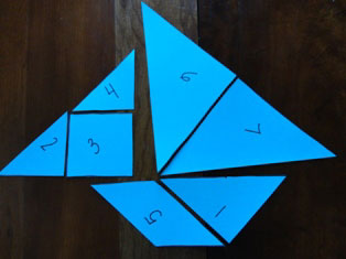 tangram sailboat craft