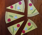 Pizza by the Slice Number Activity