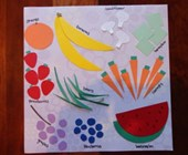 Counting Fun Placemat Craft