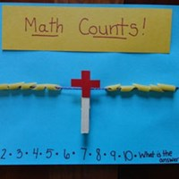 Math Counts Pasta Counter