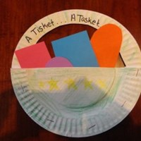 A Tisket, A Tasket Nursery Rhyme Craft
