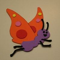 Madame Butterfly Craft for Kids