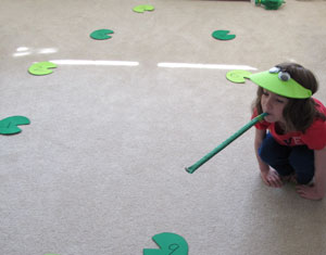 lily pad counting game