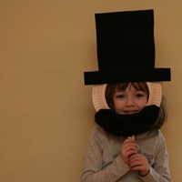 Abraham Lincoln Mask Craft