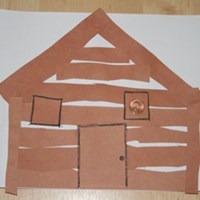 Log Cabin Craft