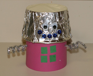 toddler robot craft