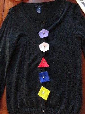 Button Up Shape Shirt Decorations