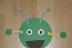Circle Shape Monster Craft