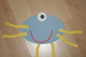 Oval Shape Monster Craft