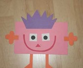 Rectangle Shape Monster Craft