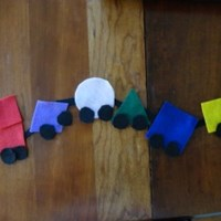Shape Train Craft