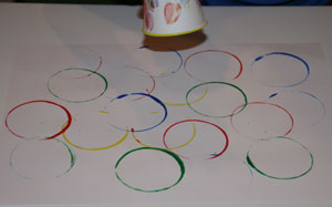 olympics craft for kids