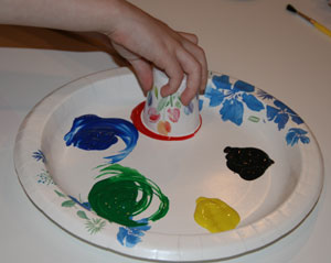 olympics painting craft