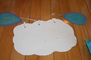 kids rain craft