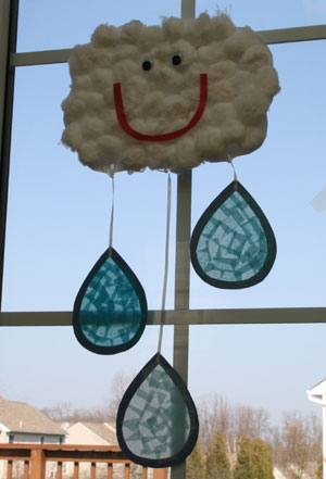 rain cloud craft