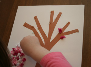 kids tree blossom craft