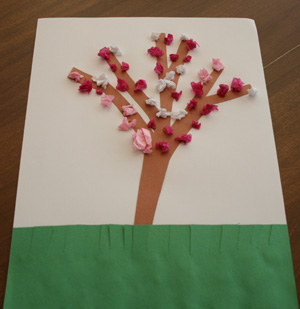 spring blossom craft