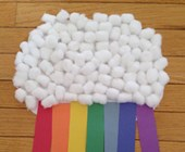 Rainbow Cloud Craft