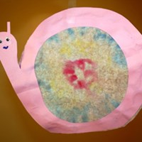Snail Sun Catcher Craft