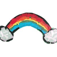 Tissue Paper Rainbow Craft