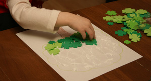 kids st. patricks day craft