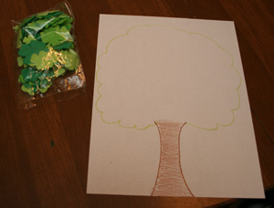 tree shamrock craft