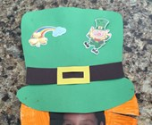 Photo Leprechaun Hat Craft