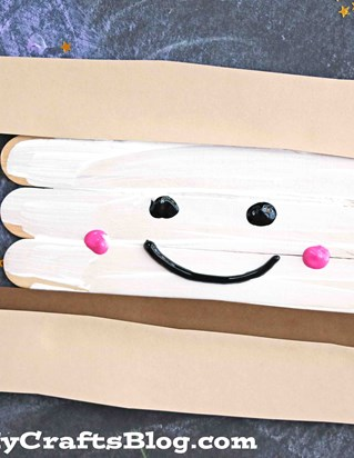 popsicle stick smores craft