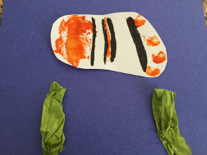 handprint fish craft step 5