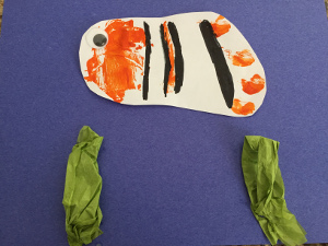 handprint fish craft step 6